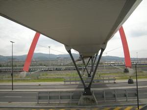 Torino, passerella e arco olimpico