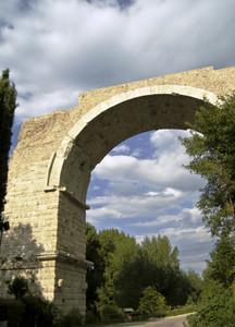 I resti del Ponte di Augusto