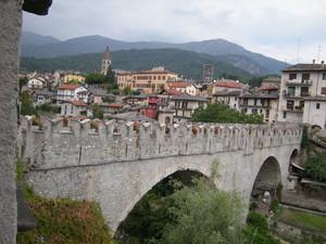 il ponte medievale di Dronero