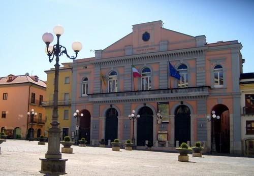 Potenza - La piazza principale