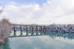 Ponte ferroviario sull'Isonzo