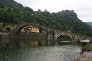 """Ponte della Maddalena detto """"del diavolo"""""""