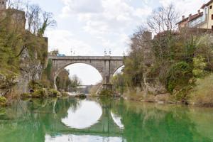 Ponte del Diavolo sul fiume Natisone