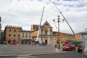 piazza Duomo ferita