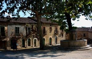 Piazza Giovanni Nicotera a Roscigno Vecchia