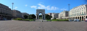 Panorama di piazza della Vittoria