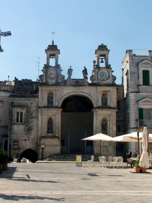 ''Piazza  Sedile'' - Matera