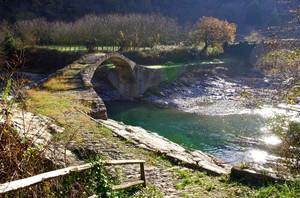 L' antico ponte dell'Ubagu…..
