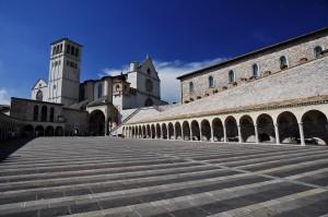 Piazza inferiore di Assisi