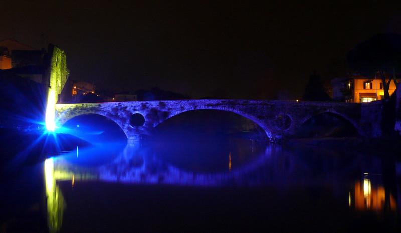 ''Magia blu (Ponte di Mercatale)'' - Prato