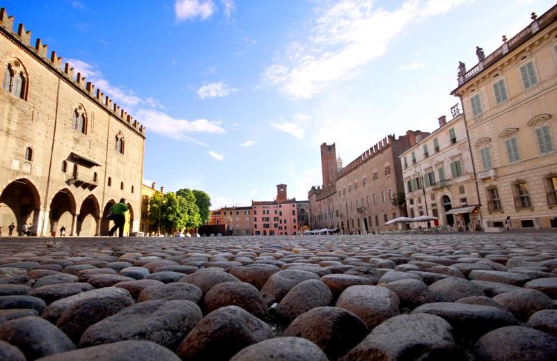 ''Piazza Sordello'' - Mantova