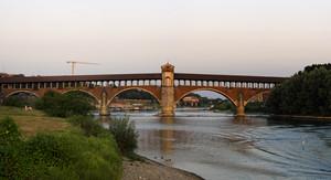 Pavia – ponte coperto
