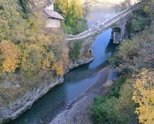 Il ponte millenario di Clanezzo