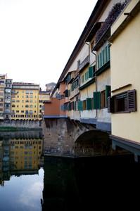 Le finestre di Ponte Vecchio