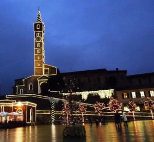 Piazza Garibaldi natalizia