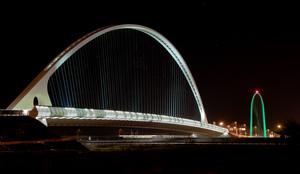 Calatrava sull'autostrada