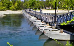 Ponte di barche di Bereguardo