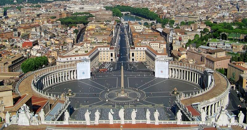 ''Piazza San Pietro'' - Roma