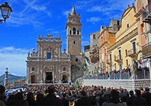 Scenario di Piazza Duomo