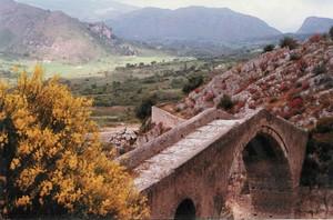 Ponte Chiaramontano edificato nel 1307