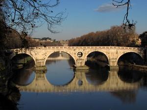 I quattro cerchi (Ponte Sisto)