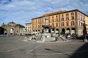 piazza della Rocca Viterbo