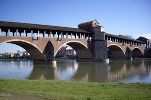 Ponte coperto sul Ticino