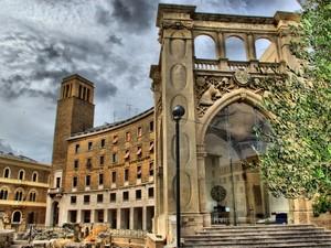 """Lecce  Piazza S.Oronzo """"Il Sedile"""""""