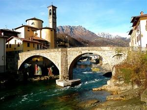 il ponte sul Brembo