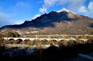 Il Ponte della Ferrovia Ponte nelle Alpi