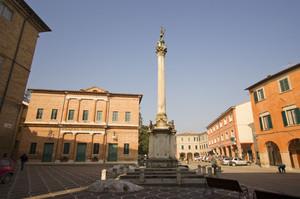Piazza San Cristoforo – Urbania -