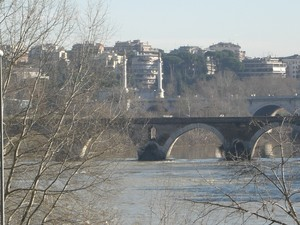 Roma. Ponte Milvio.