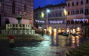 Perugia di notte…