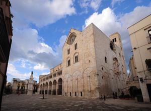 Piazza Cattedrale a Bitonto