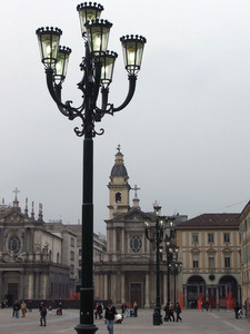 Piazza S.Carlo all'imbrunire