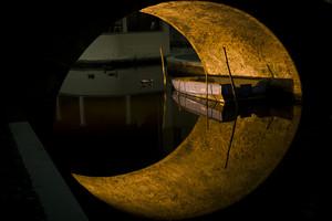 La luna a Comacchio