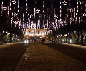 La Piazza di Mirandola Natalizia
