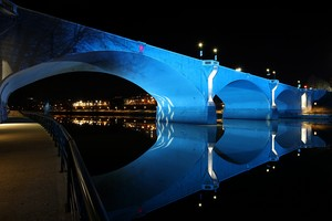 Il ponte blu