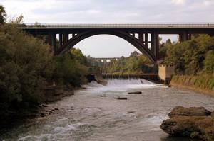 Il ponte tra Crespi e Concesa