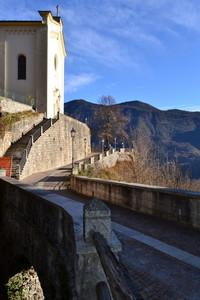 Scorcio di Castel Condino