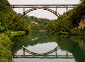 Ponte San Michele d'autunno