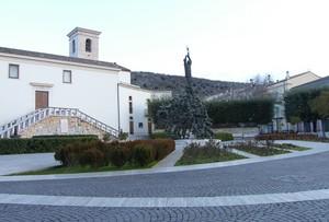 Piazza dei caduti di miniera