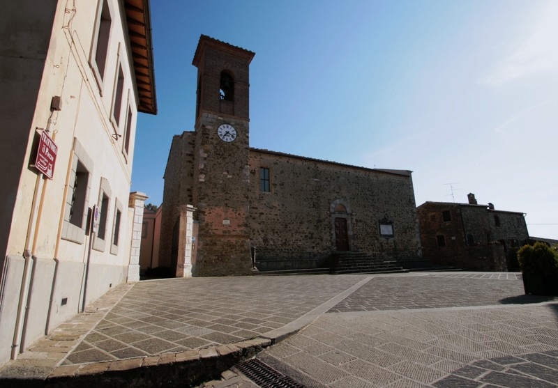 ''Piazza Castello Sant'Angelo in Colle'' - Montalcino