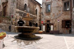 Una caratteristica piazza