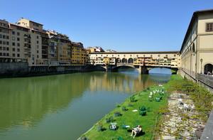 sole di primavera su Ponte Vecchio