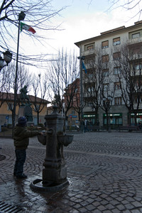 La piazza vive