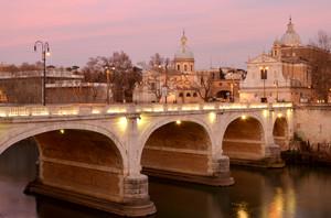 Un tramonto per Ponte Cavour