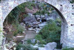 Il ponte come cornice…