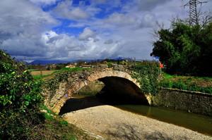 ponte romano sul torrente Crevada