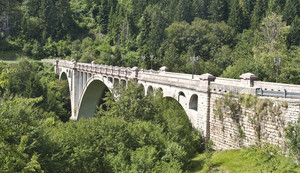 """Un ponte scelto da Francesco Baracca"""